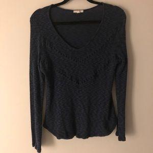 Pleione | Marled knit | Light sweater | M